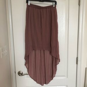 Xhilaration Skirts - 3/$22 🥳Hi-low skirt in Mauve